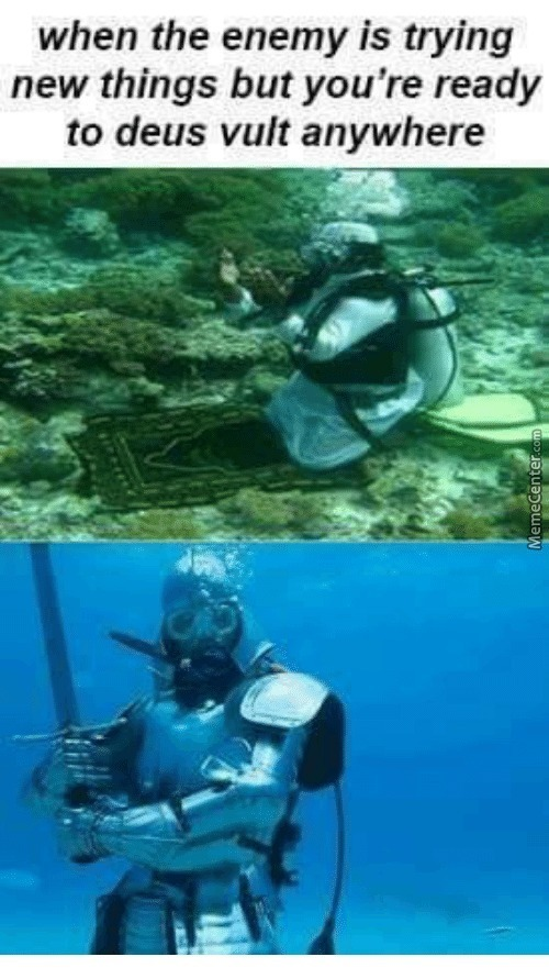 You Came To The Wrong Underwater Motherf*cker