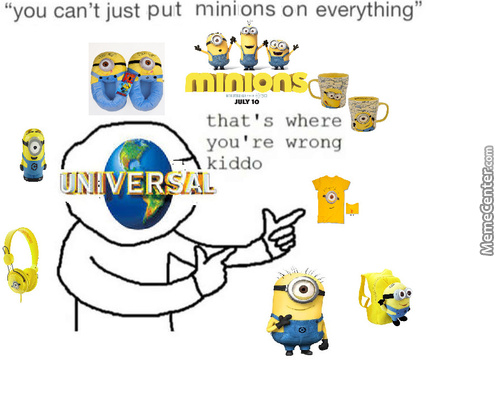 You Can't Just Keep Riding On The Backs Of Minions Forever