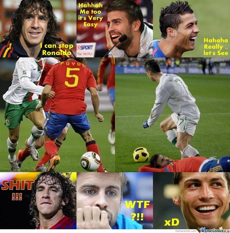 You Can Stop Ronaldo, Yeah I Can See It --'