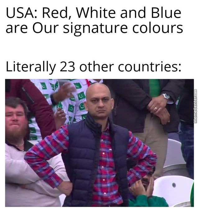 You Didn'T Even Start Those Color Flags!