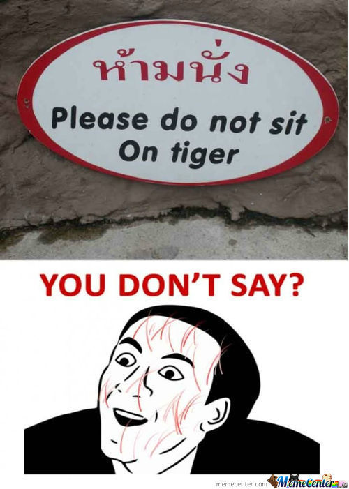 You Dnt Say..