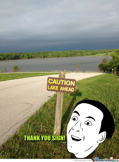 You Don't Say Sign?