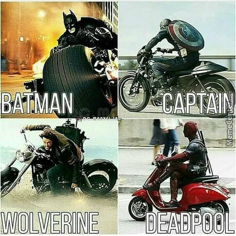 You Dont Need A Cool Ride To Be A Hero