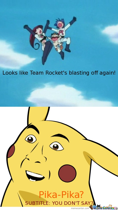You Don't Pika?