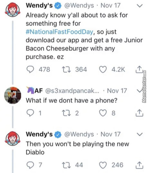 You Guys Dont Have Phones???
