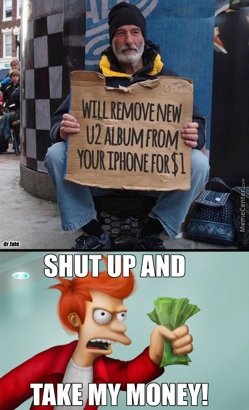 You Had Me At Remove New U2 Album