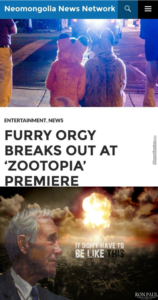 You Hate Furry Porn ? See It Live Now