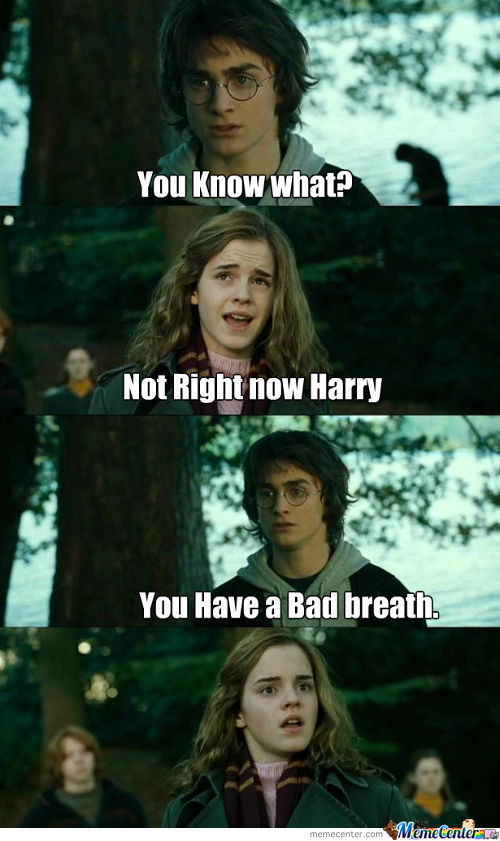 You Have A Bad Breath