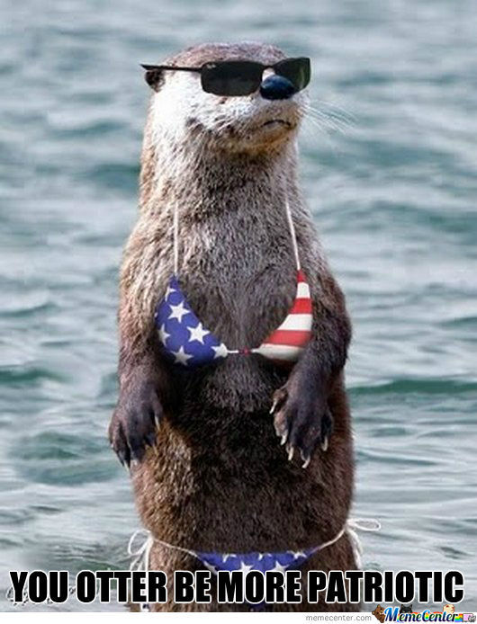 You Otter Be More Patriotic