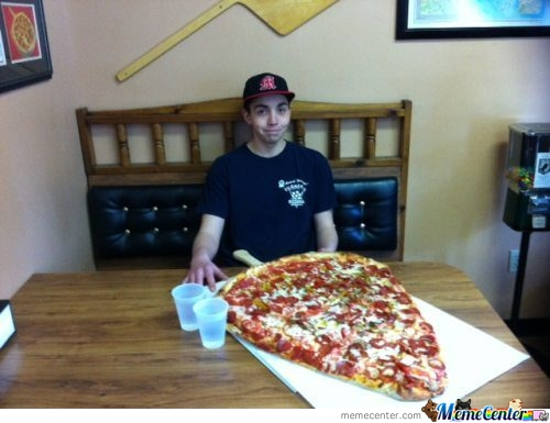 You Said That I Can Only Have One Slice