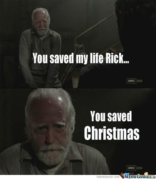 You Saved Cristmas