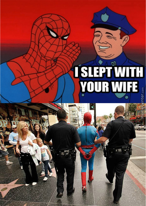 You Shouldn't Have Said That, Spidey