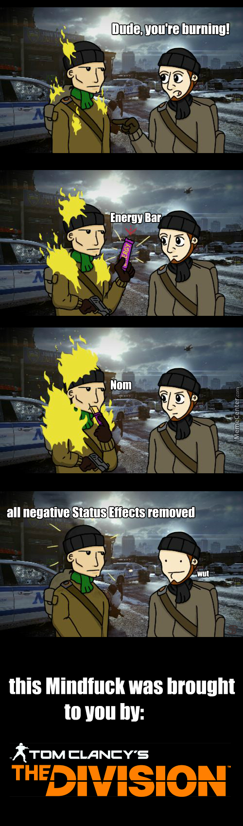 you silly water increases the damage you deal to elite enemies_o_6656623 the division memes best collection of funny the division pictures,The Division Memes