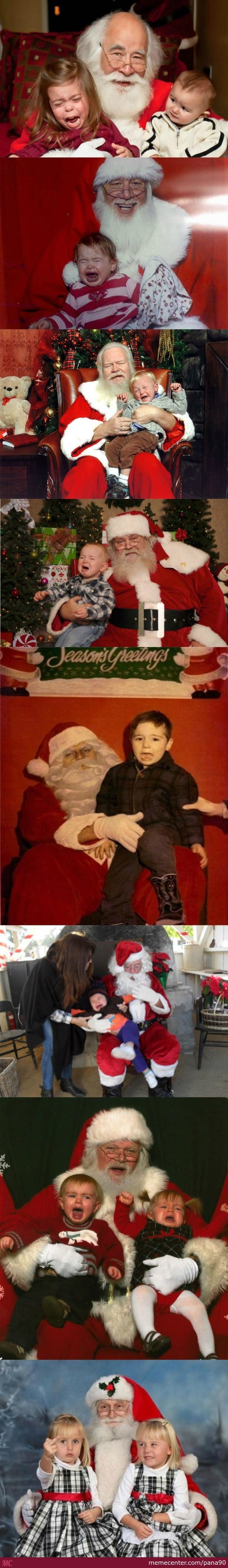 You Thought Kids Love Santa..you Were Wrong