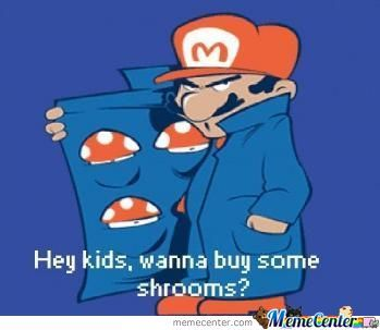 You Wanna Buy Some Shrooms?