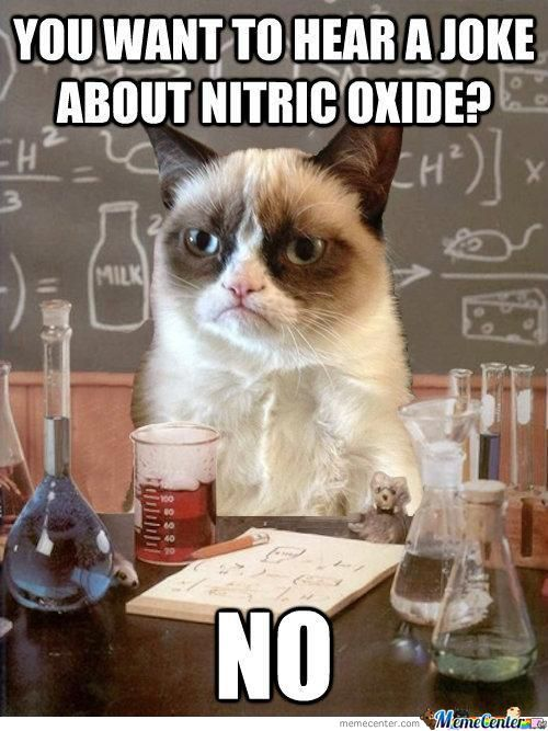 You Want To Hear A Joke About Nitric Oxide