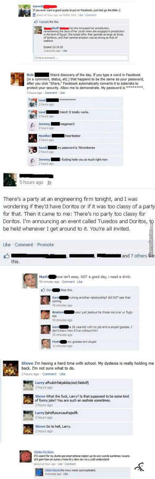 You Win Some, You Lose Some Ii: Facebook Compilation
