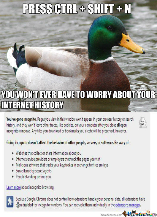 You Won't Ever Have To Worry About Your Internet History