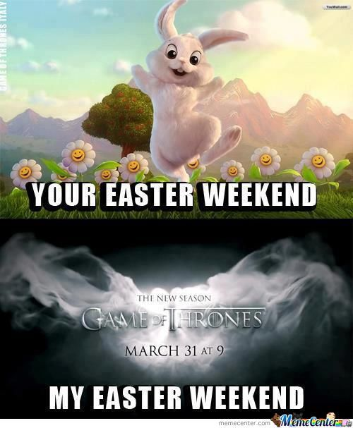Your Easter Weekend & My Easter Weekend