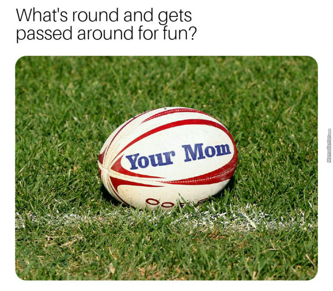 Your Mom At The Games