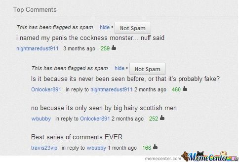 Youtube Comments At Their Best!