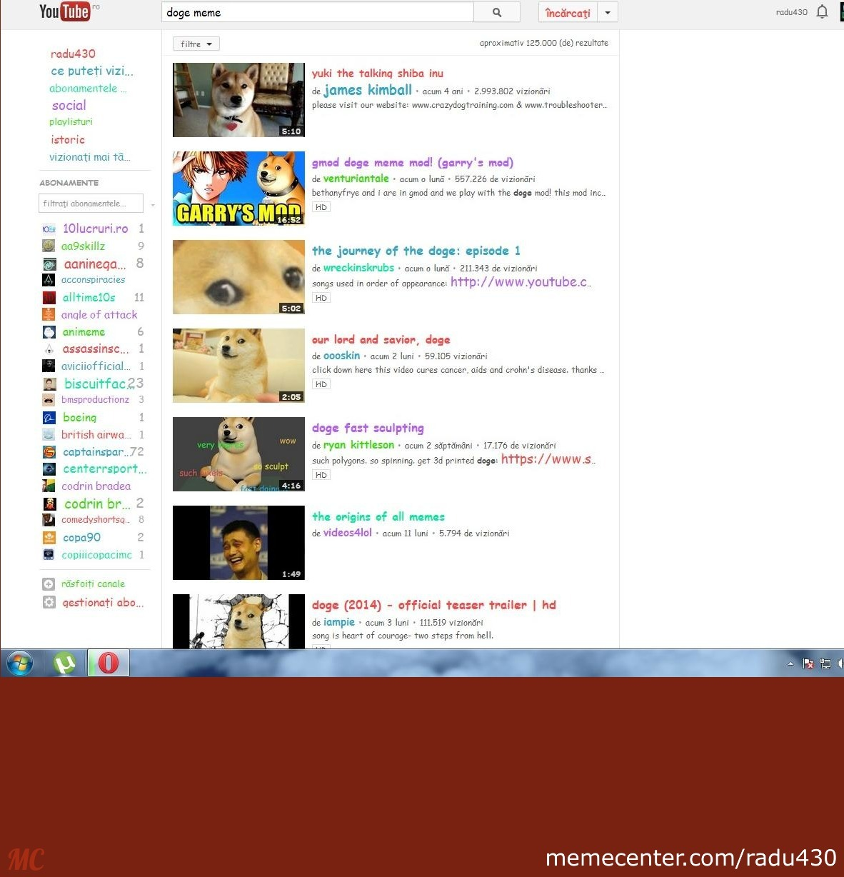 Youtube Easter Egg Search For Doge Meme On Google By Radu430