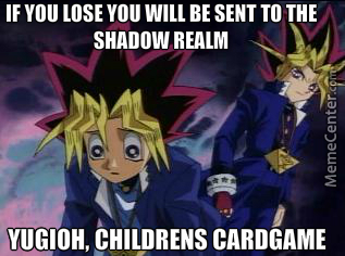 yugioh childrens card game_o_4038427 yugioh, childrens card game by cyberfrog1 meme center