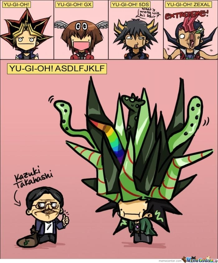 Yugioh Over Time