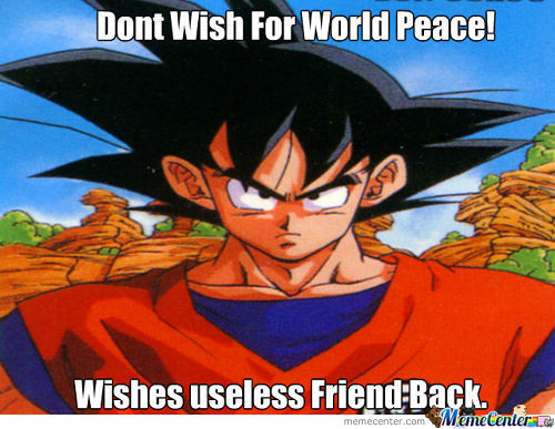 Dont Wish The World Peace