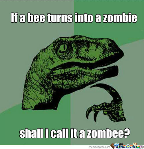Zombee Or Zombie Bee