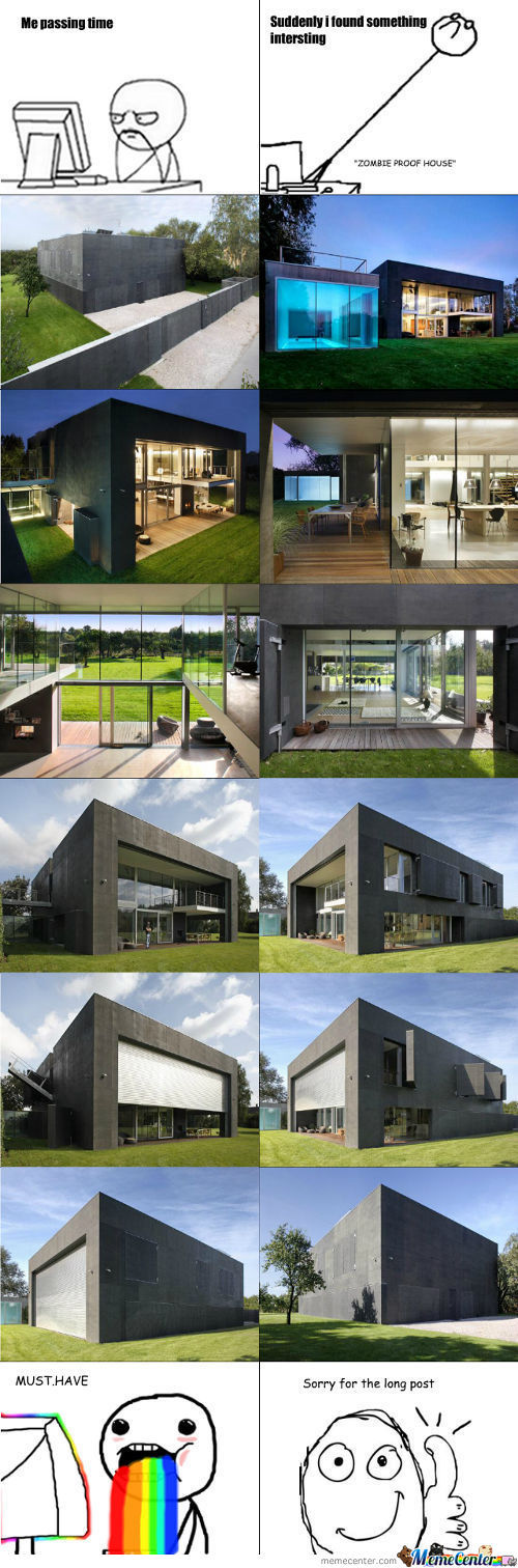 Zombie-Proof House