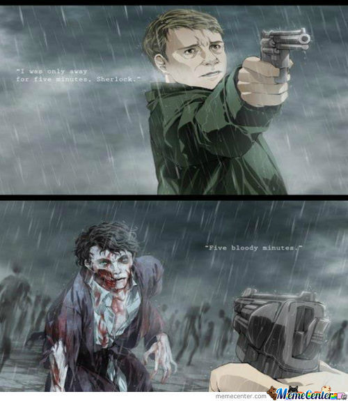 Zombie Sherlock... Could Be An Awesome Story