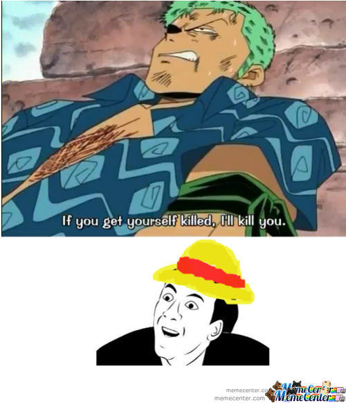Zoro...you Don't Say ?