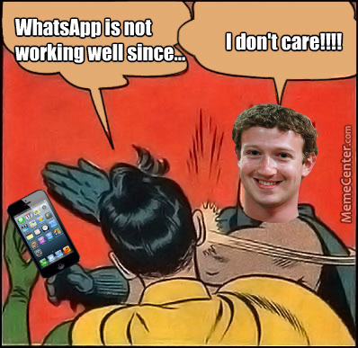 Zuckerberg & Whatsapp